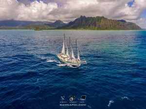 MOlu from above Kualoa in back 07272015 by Sam Kapoi